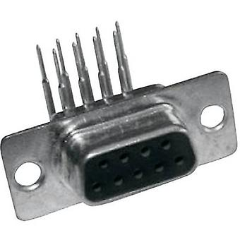 Conectores MH MHDD9-F-T-B-M-RBM 2103-2200-11 Receptáculos D-SUB 90o Número de pines: 9 1 ud(s)