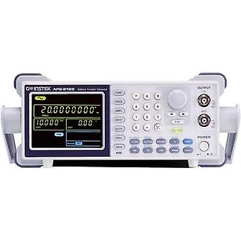 GW Instek AFG-2105 Mains-powered 0.1 Hz - 5 MHz 1-channel Arbitrary, Sinus, Rectangle, Noise, Triangle