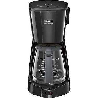 Siemens TC3A0303 Coffee maker Black Cup volume=15 Glass jug