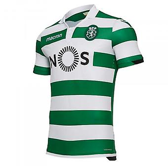 2018-2019 Sporting Lisbon Authentic Home Football Shirt (Kids)