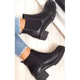 IKRUSH Womens Amra Chunky tornozelo botas