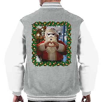 Original Stormtrooper Trooper Santa Christmas Men's Varsity Jacket