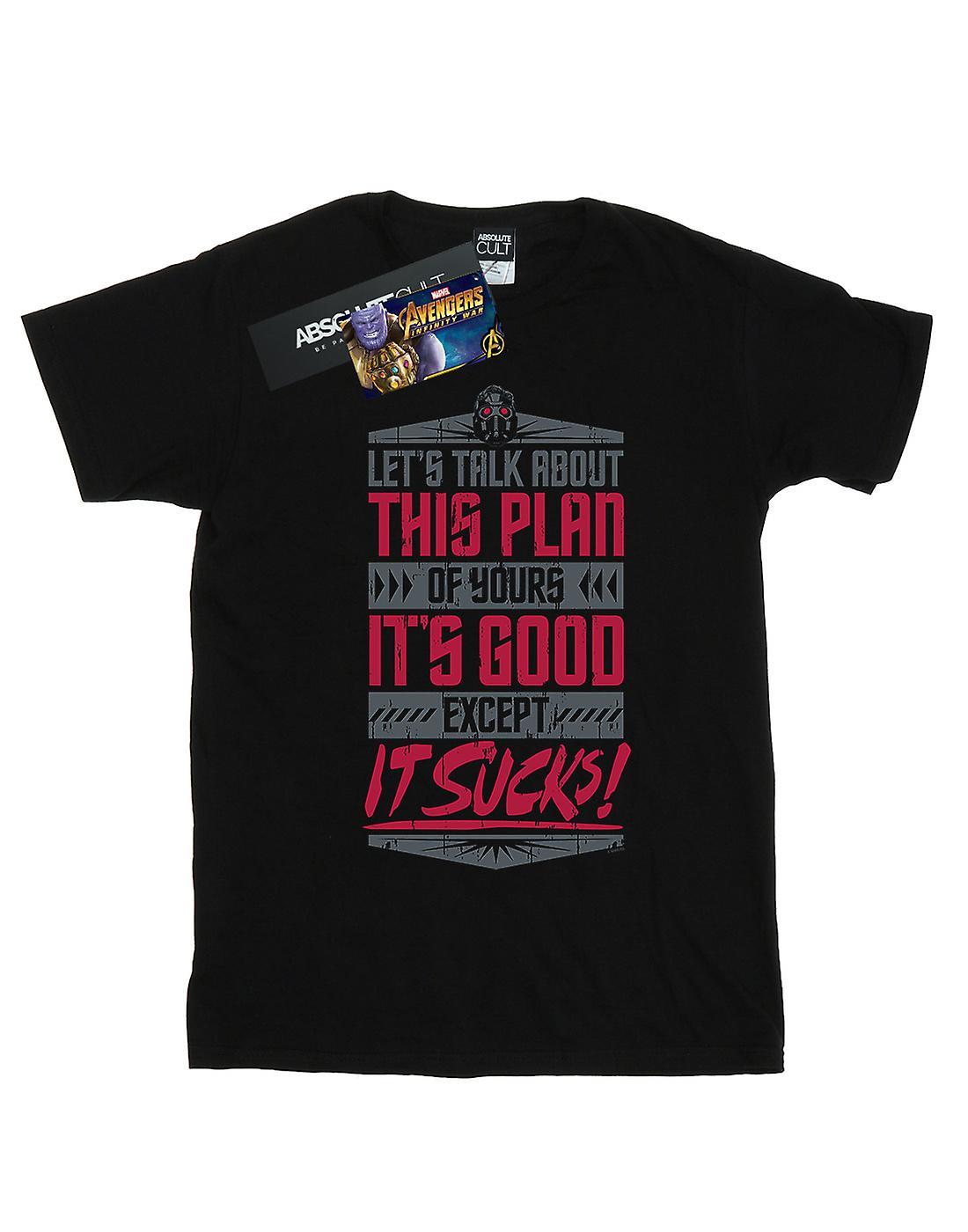Marvel Men's Avengers Infinity War It Sucks T-Shirt