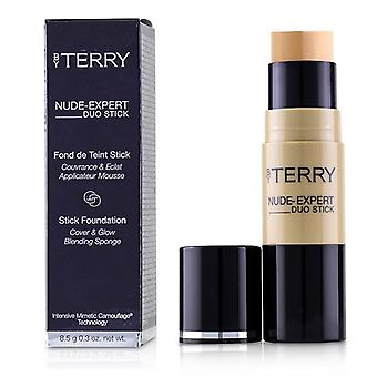 By Terry Nude Expert Duo Stick Foundation - # 5 Peach Beige - 8.5g/0.3oz