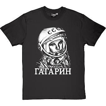Yuri Gagarin (stor stil) mäns T-Shirt
