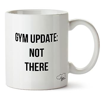 Hippowarehouse Gym Update Printed Mug Cup Ceramic 10oz