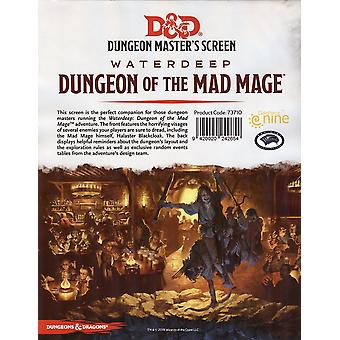 D&D Dungeon Master's Screen Waterdeep Dungeon mad maga