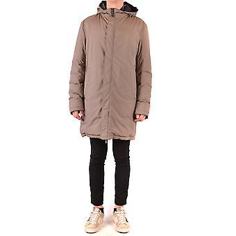 Herno Ezbc034032 Men's Beige Nylon Outerwear Jacket