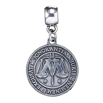 Harry Potter Silver Plated Ministry of Magic Symbol Slider Charm