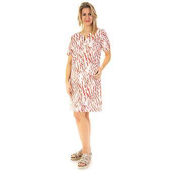POMODORO Dress 71903 Coral