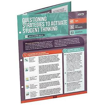 Questioning Strategies to Activate Student Thinking (Quick Reference