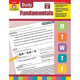 Daily Fundamentals - Grade 6 by Evan-Moor Educational Publishers - 97