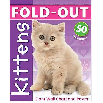Fold Out Kittens by Chez Picthall - 9781907604034 Book