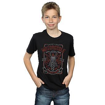 Marvel Boys Ghost Rider Motorcycle Club T-Shirt