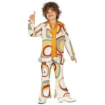 Boys Groovy 70s Fancy Dress Costume