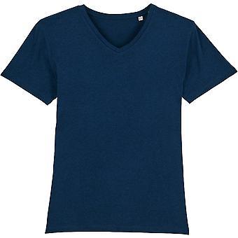 greenT Mens Organic Cotton Presenter Casual V Neck T Shirt