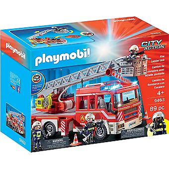 Playmobil 9463 City Action Fire Ladder Unit with Extendable Ladder