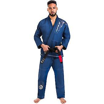 Hayabusa Gold Weave Warrior Premium Jiu-Jitsu gi-blauw