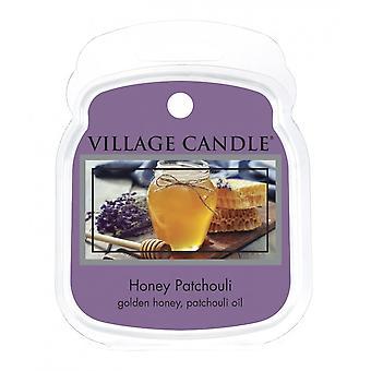 Dorf Kerze Wachs Schmelzpackungen für den Einsatz mit Schmelztorte & Ölbrenner Honig Patchouli