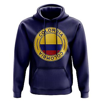 Columbia fodbold badge hoodie (Navy)