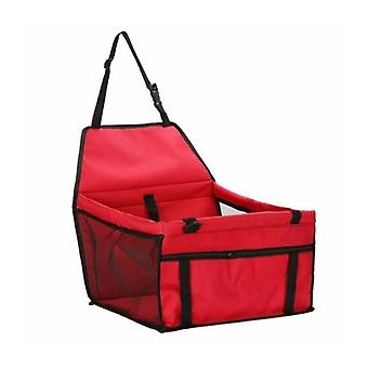 Car seat for pets, Red