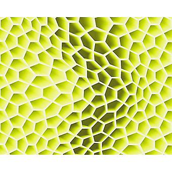 A.S. Creation AS Création Geometric Honeycomb Pattern Wallpaper Abstract 3D Textured 327091
