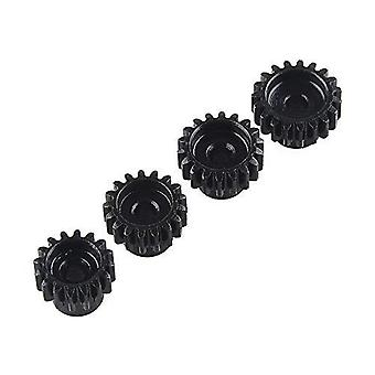 4 piezas 48DP 3175mm 18T 19T 20T 21T Piñón Engranaje del motor para 1/8 RC Buggy Monster Truck brushed Brushed Motor Gear para 1/10 1:10 RC Buggy Monster Truck
