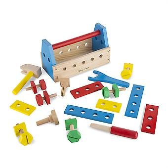 Les enfants Melissa et Doug Take Along Tool Kit Pretend Play Age 3
