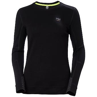 Helly Hansen Herre Merino Crewneck langærmet Baselayer top