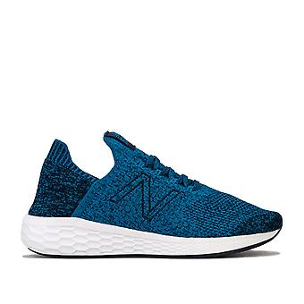 Herren New Balance Fresh Foam Cruz V2 Stricktrainer In Blau