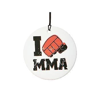 J'adore MMA Car Air Freshener