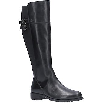 هش الجراء النساء آرلا الجلود الرمز البريدي حتى امتدت أحذية طويلة