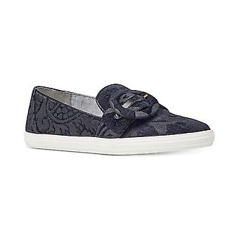 Nine West Womens Shireene Fabric Low Top Pull On Fashion Sneakers