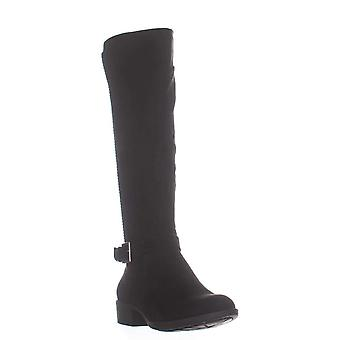 Style & Co. SC35 Luciaa Flat Riding Boots, Schwarz, 5 US / 35 EU