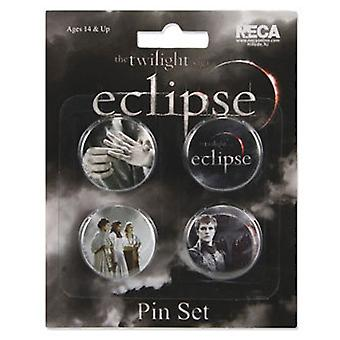 The Twilight Saga Eclipse Pin Set of 4 Misc Pack