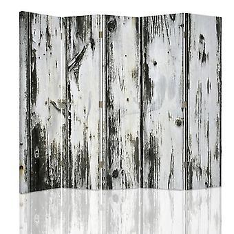 Raumteiler, 5 Panels, Doppelseitig, Leinwand, Alte Planke