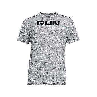 Under Armour run front grafische SS 1316844001 Universal all year mannen t-shirt
