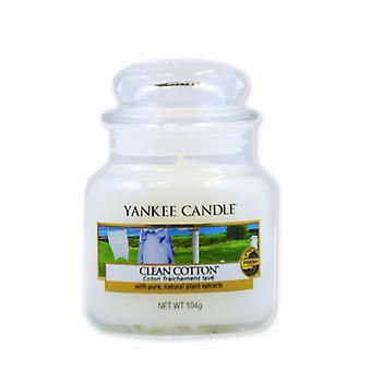 Yankee kynttilä Classic Small jar puhdas puuvilla kynttilä 104g