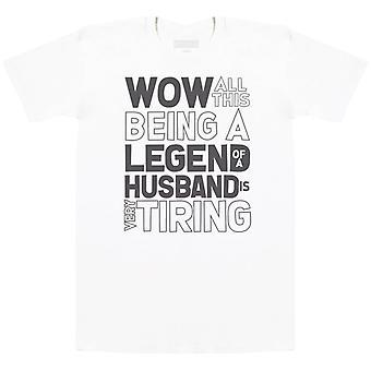 Legend Husband - Mens T-Shirt