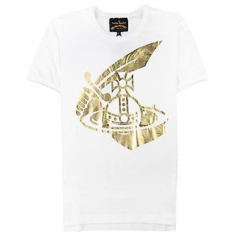 Vivienne Westwood Anglomania Cutlass Orb T-shirt Blanc
