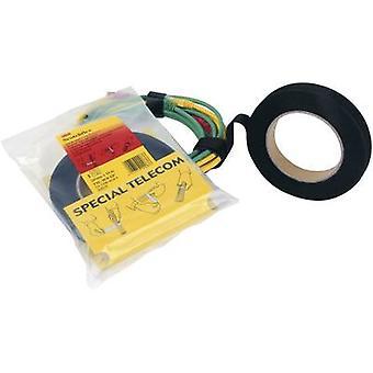 3M FE-5100-9030-4 Hook-and-loop tape for bundling Hook and loop pad (L x W) 10000 mm x 20 mm Black 10 m