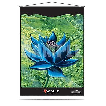 Black Lotus Wall Scroll for Magic The Gathering Board Game