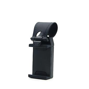Mobile holder for the car is attached to the steering wheel Universal-Black