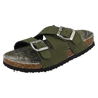 Boys Spot On Mule Sandals 4177