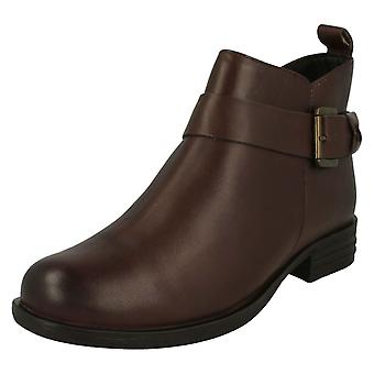 Ladies Van Dal Zip Fastening Ankle Boots Lynn X
