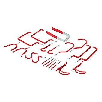 Assorted Storage Hooks Pack - 20pce