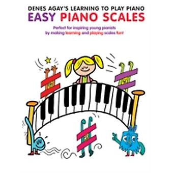 Denes Agays Learning To Play Piano  Scale Book