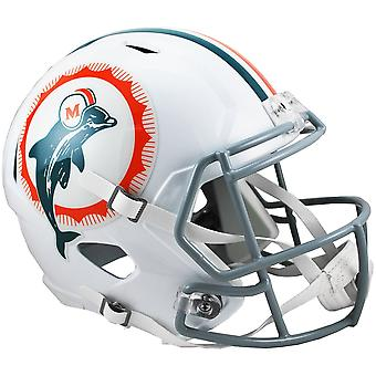 Riddell Speed Replica Football Helmet - Miami Dolphins Classic