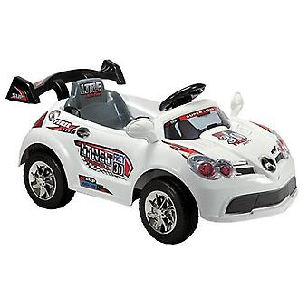 Electric children's car A088 with remote control 6V, music function, rear spoiler