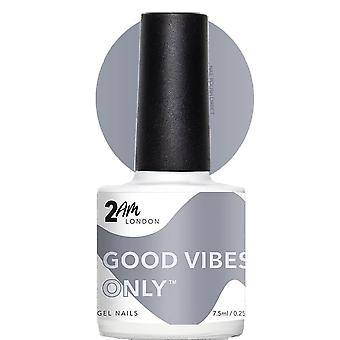 2AM Londen positieve vibes 2019 LED/UV Gel Polish collectie-Good Vibes slechts 7,5 ml (2W1903)